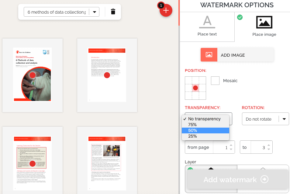 add image watermark to PDF online for free
