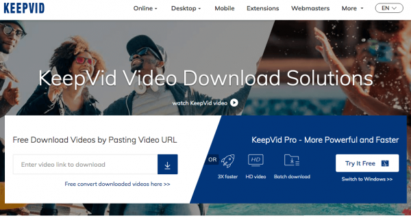 6 Best KeepVid Alternatives in 2019: Reviews and Instructions