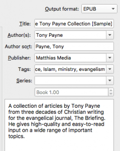 convert mobi to epub using Calibre 03