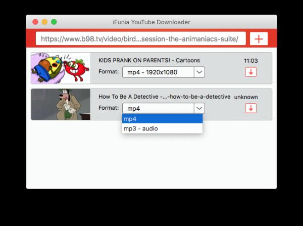 ifunia youtube downloader 02
