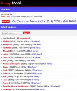 Malayalam Movies Download Sites 07- Klwap.mobi