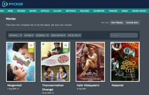 Malayalam Movies Download Sites 05- Pycker