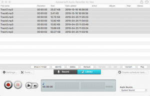 record aax files