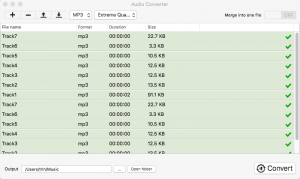 convert recorded aax to mp3