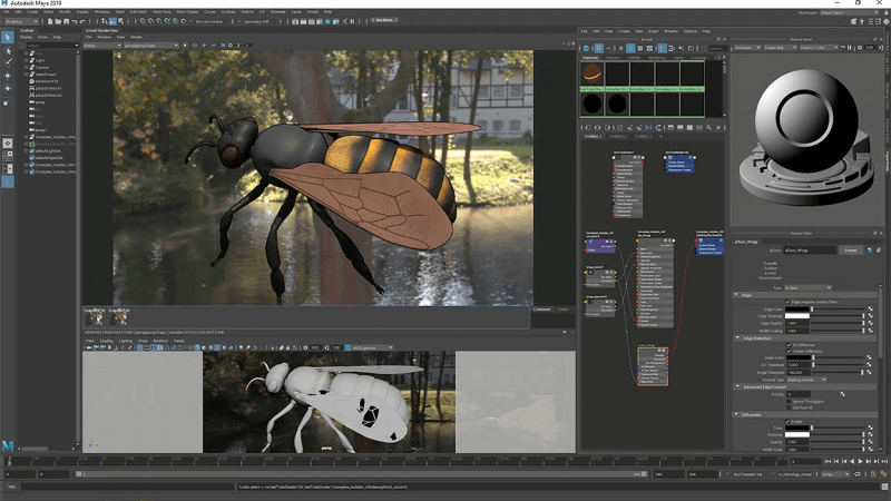 visual effects software maya