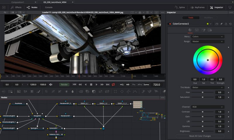 top free visual effects software blackmagic fusion