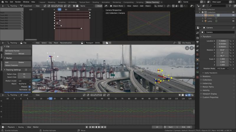 free open source vfx software blender