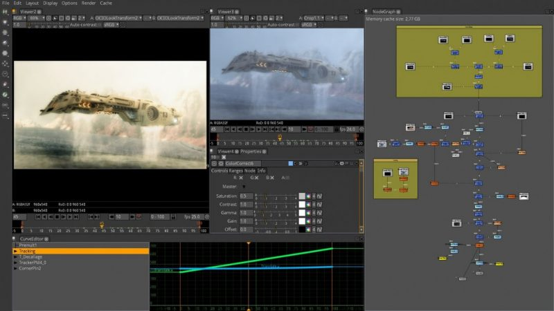 free software for visual effects natron