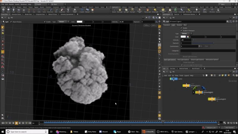visual effects software houdini