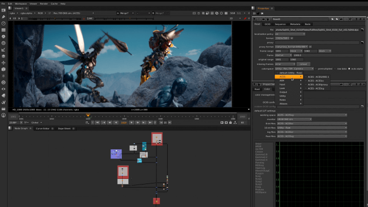 visual effects software nuke
