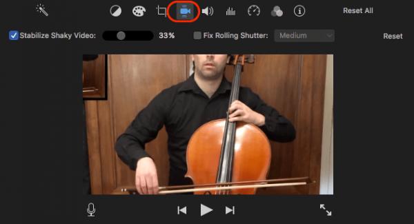 stabilize video imovie 02