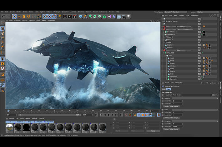 vfx software cinema 4d