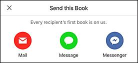 share audible books ios