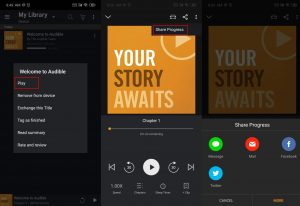 share audible books android 02