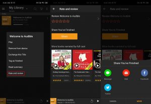 share audible books android 03