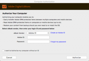 log in adobe id