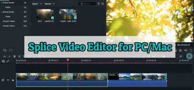 splice video editor for pc